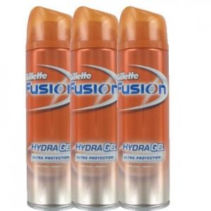 Gillette Fusion ultra protection 3xScheergel